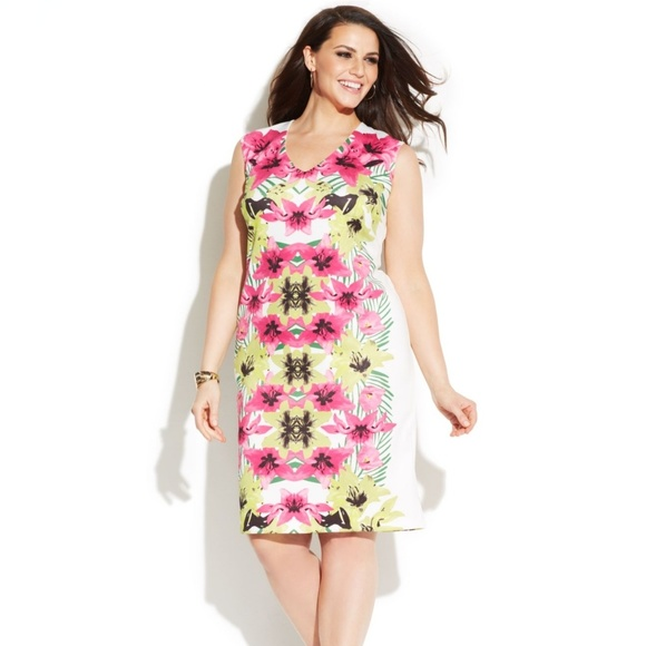 Inc International Concepts Dresses Inc Island Dream Floral Orchid